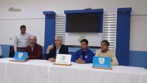 La dirigencia expuso sus impresiones durante la conferencia de prensa.