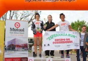 Jorgelina Mariotta, ganadora en su categoría.