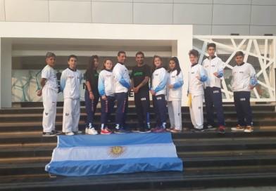 Gran labor de taekwondistas rafaelinos en Paraguay