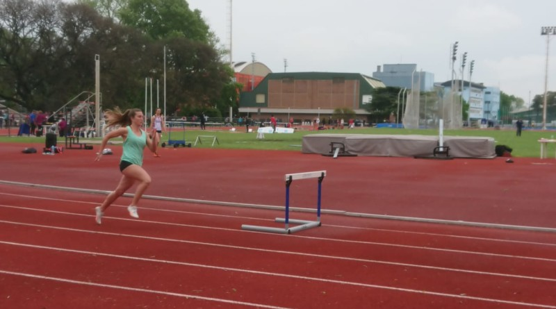 Rocio Donnet corriendo