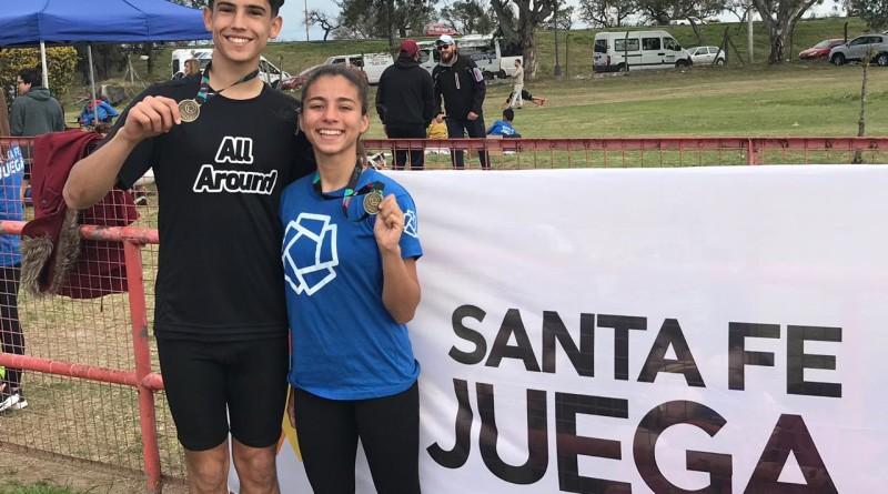 Tomas Mondino y Camila Rodriguez