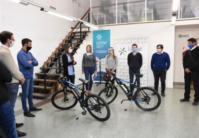 El Municipio incorporó bicicletas eléctricas como forma de movilidad sustentable
