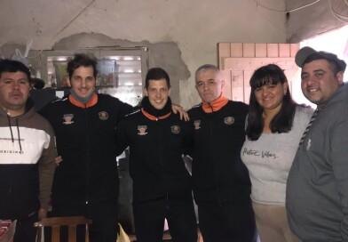 El Colegio de Arbitros «Jorge Caglieris» realizó una colecta solidaria