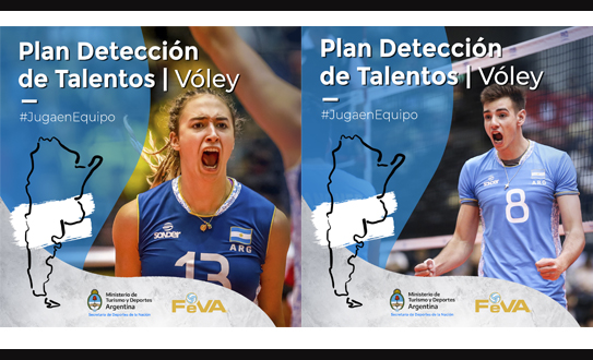 Plan talentos voley
