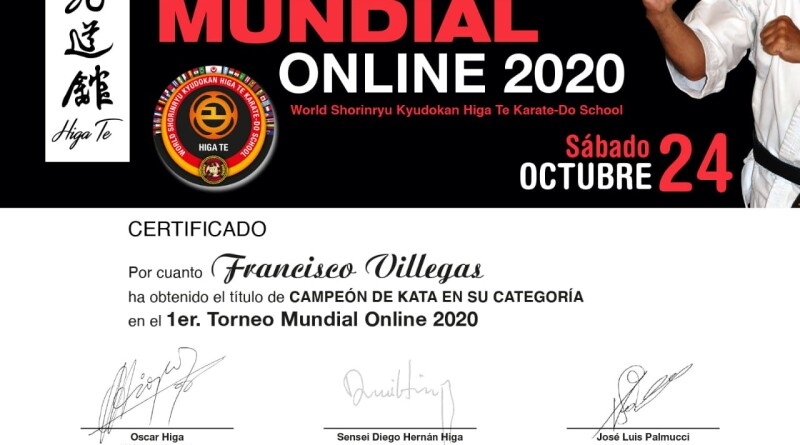 Diploma Villegas