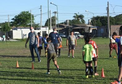 Las escuelitas deportivas barriales retoman sus actividades