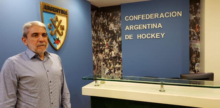 Anibal Fernandez hockey