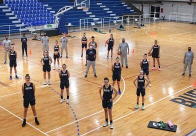 Las U19, sin Delfina Gentinetta, reanudan la preparación para el Mundial