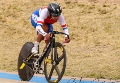 Natalia Vera logró el oro en velocidad individual